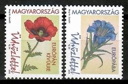 Hungary 2015 Hungría / Flowers MNH Blumen Flores Fleurs / Cu13926  5 (25) - Vegetales