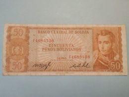 50 Bolivianos 1962 - Bolivia