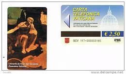 VATICANO-VATICAN-VATICAN CITY  CAT. C&C   6147  - SAN GEROLAMO. LEONARDO DA VINCI - Vaticano