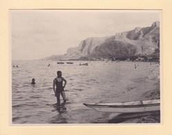 SICILE MONDELLO 10 Septembre 1926 Photo Amateur Format Environ 7,5 Cm X 5,5 Cm - Lugares