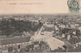 *** 58  ***  Nievre -- NEVERS  Vue Panoramique Sur Le Parc - Bien Timbrée Excellent état - Nevers