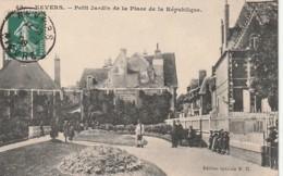 ***  58  ***   NEVERS  Petit Jardin De La Place De La République  Excellent état - Nevers