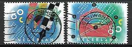 PAYS - BAS     -    1993 .   Y&T  N° 1452 / 1453 Oblitérés.  Crayon / Stylo / Enveloppe - 1980-... (Beatrix)