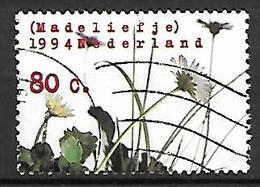 PAYS - BAS     -    1994 .   Y&T  N° 1469 Oblitéré.   Fleurs Sauvages - 1980-... (Beatrix)