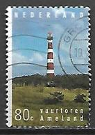 PAYS - BAS     -    1994 .   Y&T  N° 1487 Oblitéré.   Phare  /  Faros  /  Lighthouse - 1980-... (Beatrix)