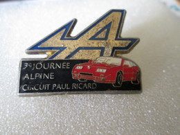 PIN'S   RENAULT  ALPINE  A 610  CIRCUIT  PAUL  RICARD - Rallye