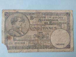 5 Francs 1938 - [ 2] 1831-... : Regno Del Belgio