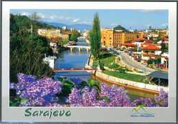 SARAJEVO - Panorama - Cartolina Non Viaggiata, Come Da Scansione. - Bosnia Erzegovina
