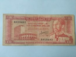 10 Dollars 1966 - Etiopía