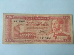 10 Dollars 1966 - Etiopia