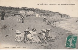 44 - PREFAILLES - Sur La Plage De Quirouard - Préfailles