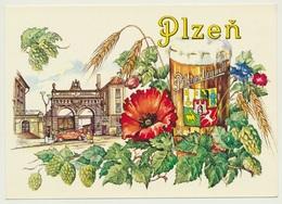 AK  Pilsen Plzen Urquell Beer - Tschechische Republik
