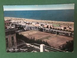 Cartolina Riccione - Spiaggia - 1958 - Rimini