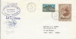 LETTRE 1975 CHALUTIER CAP HORN - Covers & Documents