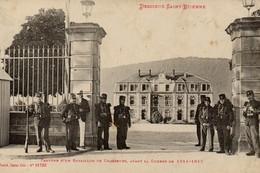 Descieux Saint Etienne - Caserne D'un Bataillon De Chasseurs Avant 14/18 - Belle Animation (839) - Saint Etienne De Remiremont