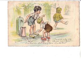 Germaine BOURET : Carte Ancienne  :  édition G.B Paris : Voir Scan Recto Verso - Bouret, Germaine
