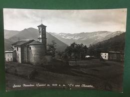 Cartolina Serra Mondovi - Cuneo - C'è Una Chiesetta - 1961 - Cuneo