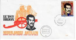 ANTILLE OLANDESI 1971 - LUIS BRION - FDC - Antille