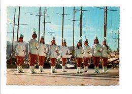 OFFICIERS ET SOUS OFFICIERS DES MAJORETTES DE MARSEILLE - Costumes