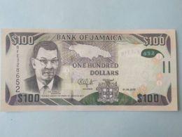 100 Dollars 2018 - Giamaica