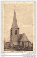 WASMES ..--  Derrière L' Eglise . 1933 Vers FARCIENNES ( Mr Lucien JAUMAIN ) . Voir Verso . - Péruwelz