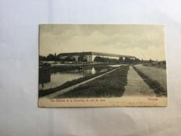 VILVOORDE  1912 VILVORDE  VUE GENERALE DE LA CORRECTION DU COTE DU CANAL - Vilvoorde