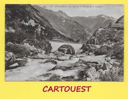CPA 65 CAUTERETS - Train De La Raillère. Un Pont   ֎ - Cauterets