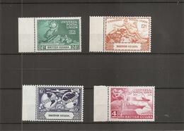 UPU ( 178/181XXX -MNH- De Guyane Britannique) - U.P.U.