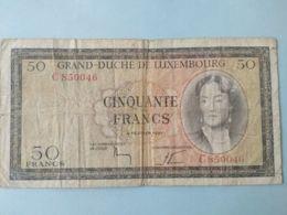 50 Francs 1962 - Lussemburgo