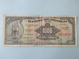 1000 Pesos 1974 - Mexico