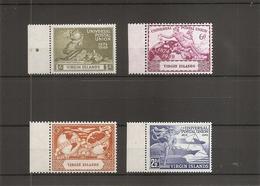UPU ( 90 / 93 Des Iles Vierges Britanniques) - U.P.U.