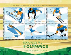 Marshall Islands   2018  Winter Olympic Games     I201901 - Marshall Islands