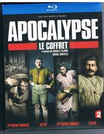 DVD Blu Ray - Apocalypse, Intégrale 1ère Guerre Mondiale - Hitler - 2ème Guerre Mondiale - Staline - Histoire