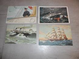 Beau Lot De 60 Cartes Postales De Bateaux  Bateau De Voile  Mooi Lot  60 Postkaarten Van Boten  Boot  Zeilschepen  Schip - Postcards