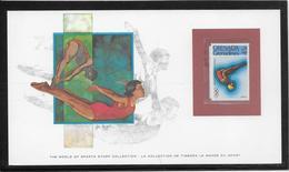 Thème Natation  - Jeux Olympiques - Sports - Document - Swimming