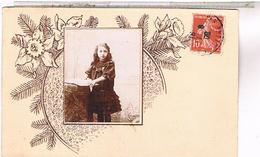 A Identifier Carte  Photo  Petite Fille Jeanne Bajard 1909 ? ID207 - Cartes Postales