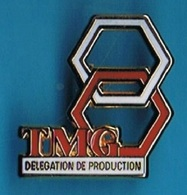 PIN'S //   ** T M G / DÉLÉGATION DE PRODUCTION ** . (ATC Paris) - Informatique