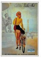 Publicité Mador Culotte Vélo Cyclisme Ski Lingerie Bas Femme Pin Up AFP 233 Illustrateur André Wilquin - Andere Illustrators