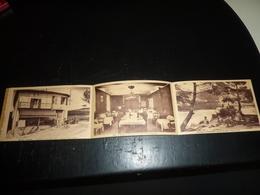 VOLONNE DEPLIANT PUBLICITAIRE POUR L'HOTEL TOURING AUBERGE NAPOLEON 1815 - 04 BASSES ALPES (AE) - France