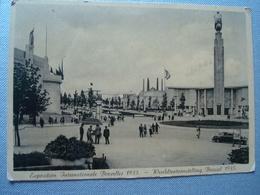 EXPO BXL 1935 : Lot De 8 Cartes De L'exposition - Expositions