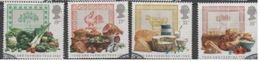 GROSSBRITANNIEN GRANDE BRETAGNE GB 1989 FOOD SET OF 4V SG 1428-31 SC 1248-51 MI 1194-97 YV 1372-1375 - 1952-.... (Elisabeth II.)