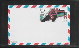 Thème Patinage Artistique  - Jeux Olympiques - Sports - Entier Postal - Figure Skating