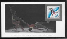 Thème Patinage Artistique  - Jeux Olympiques - Sports - Document - Figure Skating