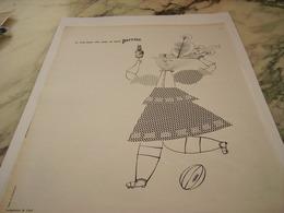 ANCIENNE PUBLICITE LES TROIS QUART AILE EXIGE  PERRIER   1963 - Perrier