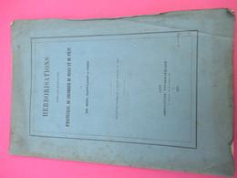 Fascicule/Botanique/Herborisations Dans Les Montagnes Hauteville,Colombier Bugey,Pilat/MEHU S LAGER CUSIN/1876 MDP114 - Libri, Riviste, Fumetti