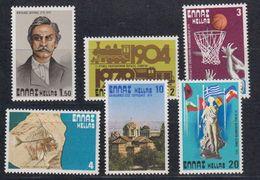 Greece 1979 Commemoratives & Events 6v ** Mnh (43345) - Griekenland