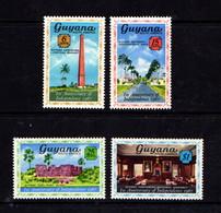 GUYANA      1967    1st  Anniv  Of  Independence   Set  Of  4        MH - Guyana (1966-...)