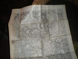 Ancienne Carte ENVIRONS DE NANCY - Cartes Topographiques