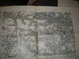 Ancienne Carte SOISSONS - Cartes Topographiques