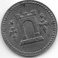 Notgeld Bitburg 10 Pfennig 1919 Fe 1566.1 /F43.1 - [ 2] 1871-1918 : Empire Allemand